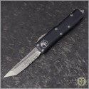 (#233-11) Microtech UTX-85 T/E Stonewash Partially Serrated - Front