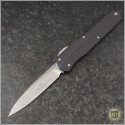 (#241-10) Microtech Cypher S/E Stonewash - Front