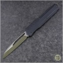 (#241M-1GRBK) Microtech Cipher MK7 S/E Green Blade - Front