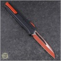 (#241M-1RDB) Microtech Cipher MK7 S/E Red Standard Red Hardware - Back