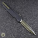 (#242M-1GRB) Microtech Cypher MK7 D/E OD Green Blade & Hardware - Back