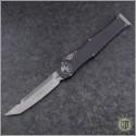 (#250-10NS) Microtech Halo VI T/E Stonewash Plain No Safety - Front