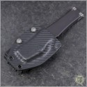(#250-1NS) Microtech Halo VI T/E Black Plain No Safety - Additional View