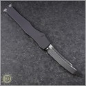 (#250-1) Microtech Halo VI T/E Black Plain - Back