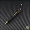 (#401-SS-BK) Microtech Siphon II Pen Black - Front
