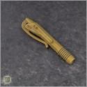 (#401-SS-PVDTN) Microtech Siphon II Pen Tan PVD - Back