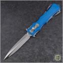 (#BK-RZR-BL) Burn Knives Custom Razor Scythe Series - Front