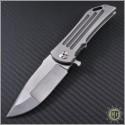(#DDR-DOM-001) Darrel Ralph Dominator - Damasteel Blade - Front
