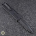 (#GT-93112) Guardian Tactical Recon-035 Black Tactical S/E Serrated - Back