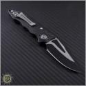 (#GUA-42211) Guardian Tactical Mini Helix F/A Carbon Fiber Handle S/E Black and Satin Blade - Back