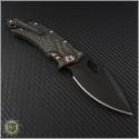 (#GUA-CONIX-82111) Guardian Tactical Conix Carbon Fiber Black Standard Tactical w/ Bronzed Hardware - Back