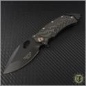 (#GUA-CONIX-82111) Guardian Tactical Conix Carbon Fiber Black Standard Tactical w/ Bronzed Hardware - Front