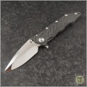 (#GUA-Helix-C1) Guardian Tactical Custom Helix Nano CF w/ Mirror Finish Blade - Front