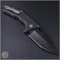 (#H009-4A) Heretic Knives Martyr Black Plain - Back