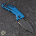 (#H011-6A-BLUE) Heretic Knives Martyr Auto Blue Handle DLC - Back