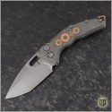 (#H011-TI-3A-DB) Heretic Knives Geared Martyr Auto T/E Double Blast - Front