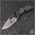 (#H012-CAMO) Heretic Knives Martyr Auto RE Predator Skin Camo - Front