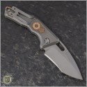 (#H012-TI-3A-DB) Heretic Knives Geared Martyr Auto Recurve Double Blast - Back