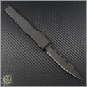 (#HG-0028) Microtech Halo 2.3 Tactical Black Plain - Back