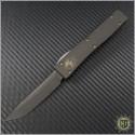(#HG-0030) Microtech Ultratech UT6 T/E Black Plain - Front