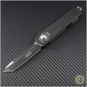 (#HG-0032) Microtech Executive Scarab T/E Tactical Plain - Front