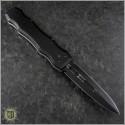 (#HG-0047) Desert Knife Works Sandshark D/E Black - Back