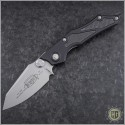 (#HG-0057) Microtech Select-Fire-M Bead Blast Plain Pre-Production - Front