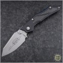 (#HG-0058) Microtech Select-Fire-M Bead Blast Plain Pre-Production - Front