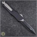 (#HG-0068) Microtech Combat Troodon D/E Black Fully Serrated - Back
