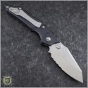 (#HG-0098) Microtech Select-Fire D/A Satin Serrated - Back