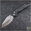 (#HG-0098) Microtech Select-Fire D/A Satin Serrated - Front