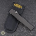 (#HG-0110) Microtech Halo III T/E Stonewash Part Serrated - Additional View