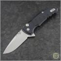 (#HO-X1-Micro-BK) Hogue X1-Micro (24170) - Tumbled Plain Blade, Matte Black Handle - Front