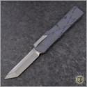 (#HTK-H015-2A-PS) Heretic Knives Cleric T/E Puple Splash Handle - Front