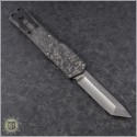 (#HTK-H015-DAM-CF5) Heretic Knives Cleric T/E Damascus w/ Carbon Fiber Cover - Back