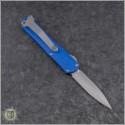 (#HTK-H024-2A-BL) Heretic Knives Blue Manticore-S D/E Stonewash - Back