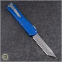 (#HTK-H031-2A-Blue) Heretic Knives Blue Manticore-X T/E Stonewash - Back