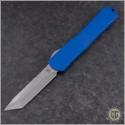 (#HTK-H031-2A-Blue) Heretic Knives Blue Manticore-X T/E Stonewash - Front
