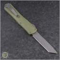 (#HTK-H031-5A-GR) Heretic Knives Green Manticore X T/E Battleworn - Back