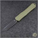 (#HTK-H031-6A-GR) Heretic Knives Green Manticore X T/E DLC - Front