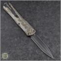 (#HTK-H032-6A-ALTI) Heretic Knives Manticore-X D/E DLC w/ Ti Cover - Front