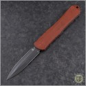 (#HTK-H032-6A-BRKRD) Heretic Knives Red Manticore-X D/E DLC - Front