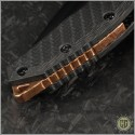 (#HTK-MAR-CU) Heretic Knives Carbon Fiber Auto Martyr w/ Copper Backstrap - Additional View