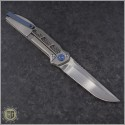 (#LM-XV-HR) Liong Mah XV Folder In Hand Rubbed Satin - Back