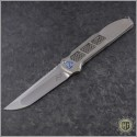 (#LM-XV-HR) Liong Mah XV Folder In Hand Rubbed Satin - Front