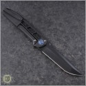 (#LM-XV-PVD) Liong Mah XV Folder with Black PVD Handle and Blade - Back