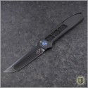 (#LM-XV-PVD) Liong Mah XV Folder with Black PVD Handle and Blade - Front