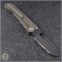 (#MK002DPQ-36A1) Medford Knife & Tool 187DP Drop Point - Bronze Ti - Back