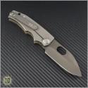 (#MKT-187RMP-002) Medford Knife & Tool 187RMP - Black PVD - OD Green G10 Handle - Back