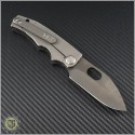 (#MKT-187RMP-003) Medford Knife & Tool 187RMP - Black PVD - Black G10 Handle - Back